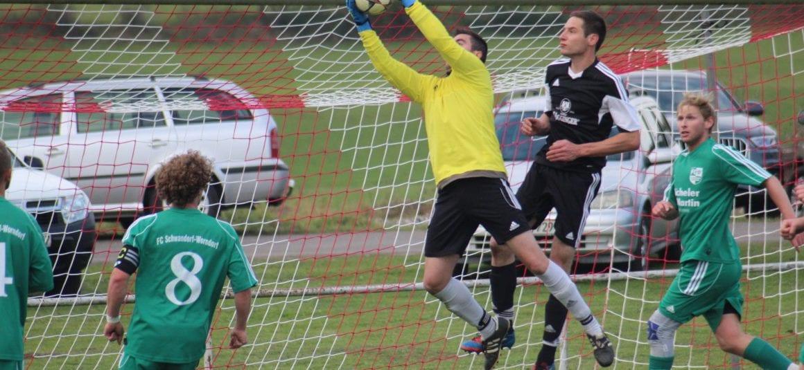 Kreisliga A, Staffel 3 – SC Göggingen – FC Schwandorf/Worndorf 3:1 (1:1)