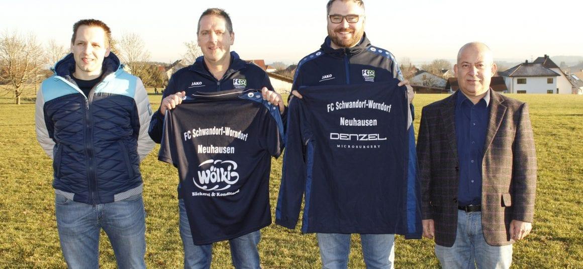 Denzel Microsurgery und Bäckerei Wölki unterstützen den FC Schwandorf/Worndorf/Neuhausen!