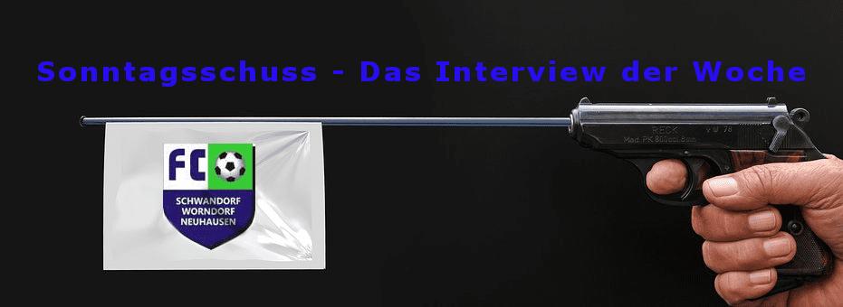 """""""Sonntagsschuss"""" – Das Interview der Woche – Unsere neue Rubrik!"""